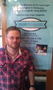 Matt Hoggatt at Key West Margaritaville on March 15th, 2012