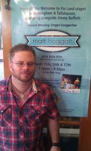 Matt Hoggatt at Key West Margaritaville on March 15th, 2012