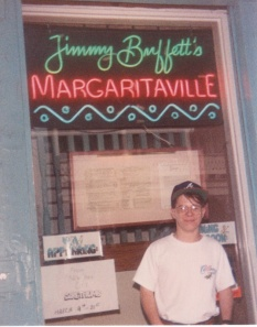Matt Hoggatt in Key West on March 15th, 1993